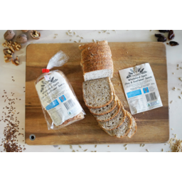 Photo of Naturis Bakery Wholemeal Spelt, Chia & Sunflower Seeds Loaf (Low Fodmap)