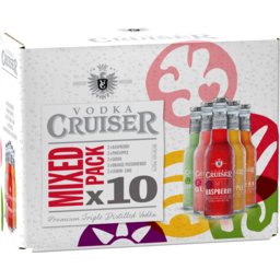 Photo of Vodka Cruiser Mixed 10 Stubbies