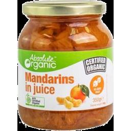 Photo of Absolute Organic Mandarins In Juice 350gm