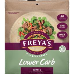 Photo of Freya's Wraps Lower Carb White 180g