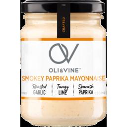 Photo of Oli & Vine Smokey Paprika Mayonnaise 230ml