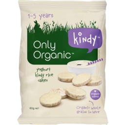 Photo of Only Organic Yoghurt Mini Rice Cakes 60g