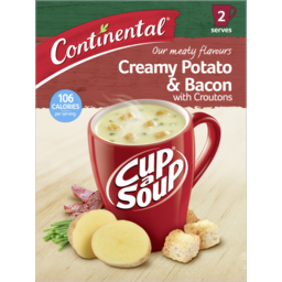Photo of Continental Cup-A-Soup Potato & Bacon 2 Serves 50g