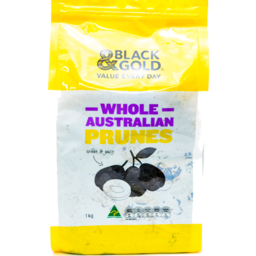 Photo of Black And Gold Prunes 1kg