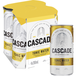 Photo of Cascade Tonic Water Can 200ml 4pk