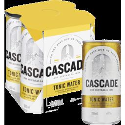 Photo of Cascade Tonic Water Can4x200ml