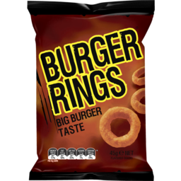 Photo of Burger Rings 45g