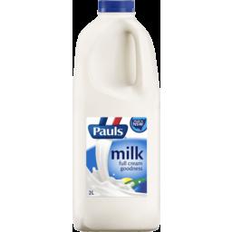 Photo of Pauls Whole Milk 2 Litre