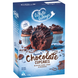 Photo of White Wings Delicious Chocolate Cupcakes Mix 410g