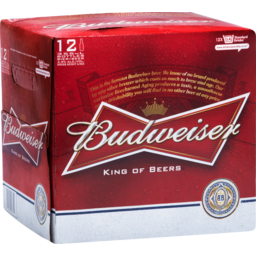 Photo of Budweiser Beer 12x355ml
