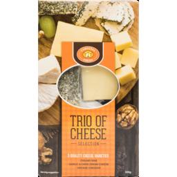 Photo of Chrystal Fresh Cheese Platter Trio 335g