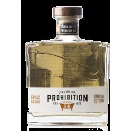 Photo of Prohibition Bathtub Cut Gin