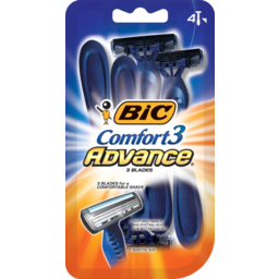 Photo of Bic Comfort 3 Disposable Shavers Advance 4s 4