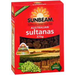 Photo of Sunbeam Sultanas 375gm