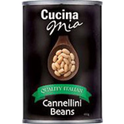 Photo of Cucina Mia Cannellini Beans 400gm