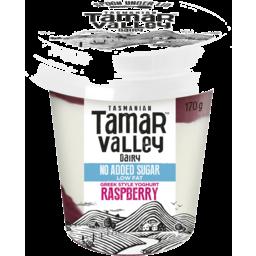 Photo of Tamar Valley Greek Style Raspberry Yoghurt 170gm