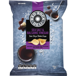 Photo of Red Rock Deli Potato Chips Sea Salt & Balsamic Vinegar 165gm