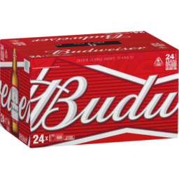 Photo of Budweiser 24 X 355ml Bottles