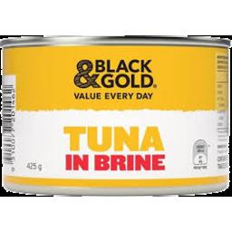 Photo of Black & Gold Tuna Chunk Brine 425gm