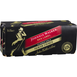 Photo of Johnnie Walker & Cola Premium Blend Cans