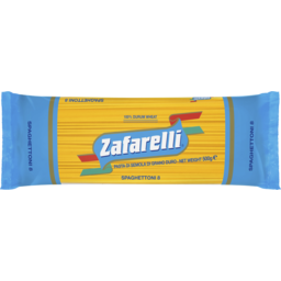 Photo of Zafarelli No 8 Spaghetoni 500g