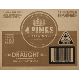 Photo of 4 Pines Kolsch Bottles
