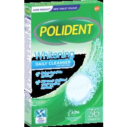 Photo of Polident Whitening Denture Cleanser 36 Tablets