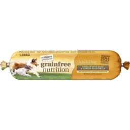Photo of Natures Goodness Grain Free Chicken With Duck And Garden Vegetables Chilled Dog Food 1.08kg