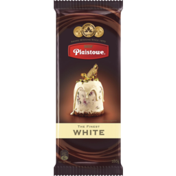 Photo of Plaistowe Choc White 180g