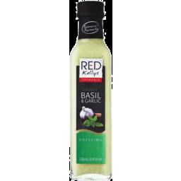 Photo of Red Kellys Basil Garlic Dressing 250ml