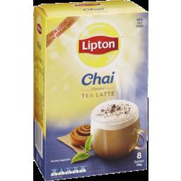 Photo of Lipton Instant Latte Sachets Chai Tea 8 Pack 185g