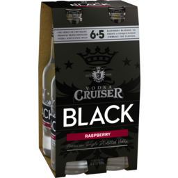 Photo of Vodka Cruiser Black Raspberry Stubbies