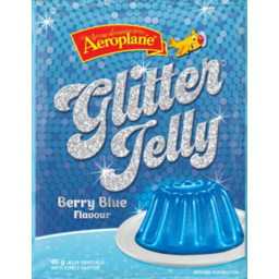 Photo of Aero Jelly Glittler Berry Blue (85g)