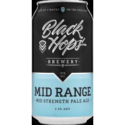 Photo of Black Hops Mid Range Pale Ale Cans