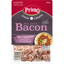 Photo of Primo Real Diced Bacon Pieces 200g