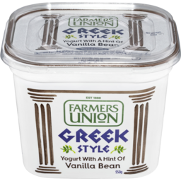 Photo of Farmers Union Greek Vanilla Yoghurt 950g