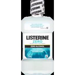 Photo of Listerine Zero Alcohol Mouthwash 250ml