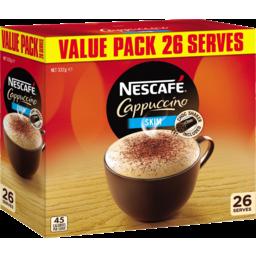 Photo of Nescafe Menu Coffee Cappucino Skim 26 Pack