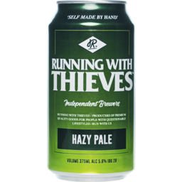 Photo of Running With Thieves Hazy Pale Ale Can