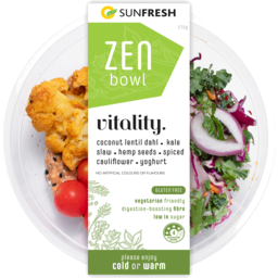 Photo of Sunfresh Zen Bowl Vitality 275g