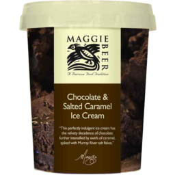 Photo of Chocolate & Salted Caramel Ice Cream Generic