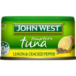 Photo of John West Tuna Tempters Lemon & Cracked Pepper 95g