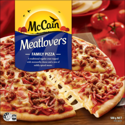 Photo of Mccain Meatlovers Family Pizza 500g