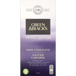 Photo of Green & Black's Smooth Dark Chocolate Salted Caramel 90g