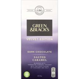 Photo of Green & Blacks Dark Chocolate Salted Caramel 90g