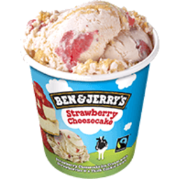 Photo of Ben & Jerry's Strawberry Cheesecake Cup