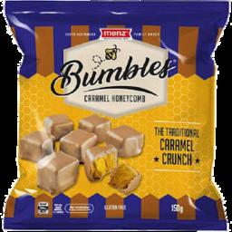 Photo of Menz Bumbles Caramel Honeycomb 150g