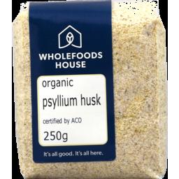 Photo of Wholefoods House Psyllium Husk Organic 250g