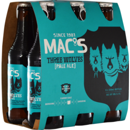 Photo of Mac's 3 Wolves 330ml Bottles 6 Pack