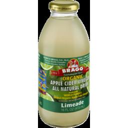 Photo of Bragg Organic Apple Cider Vinegar Limeade All Natural Drink